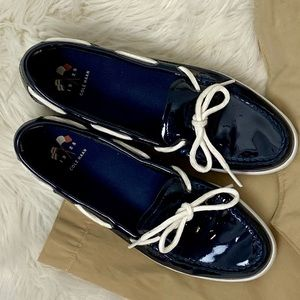 Cole Haan Patent Boat Loafers size 8